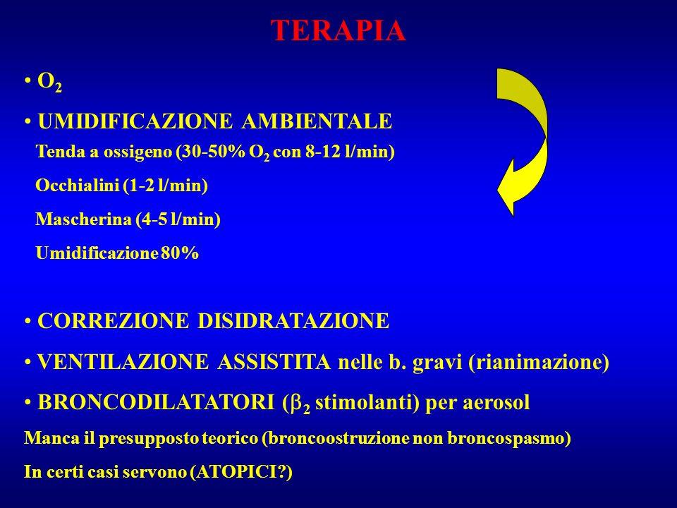 TERAPIA O2 UMIDIFICAZIONE AMBIENTALE CORREZIONE DISIDRATAZIONE