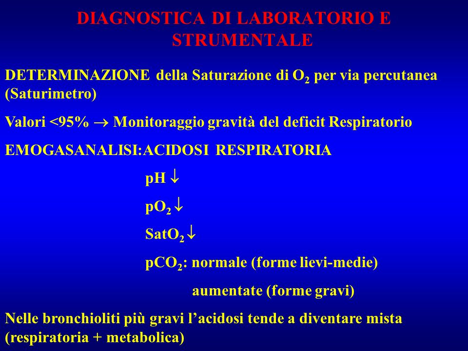 DIAGNOSTICA DI LABORATORIO E STRUMENTALE