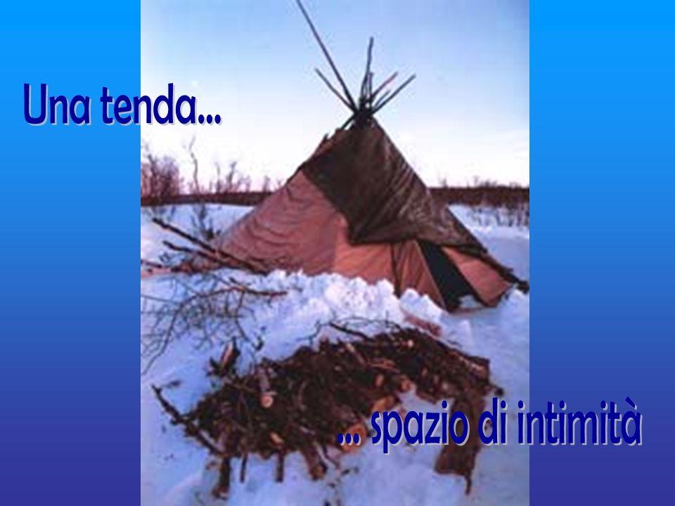 Una tenda... ... spazio di intimità