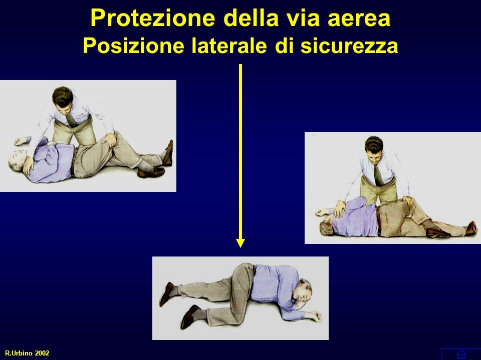 Protezione della via aerea Posizione laterale di sicurezza
