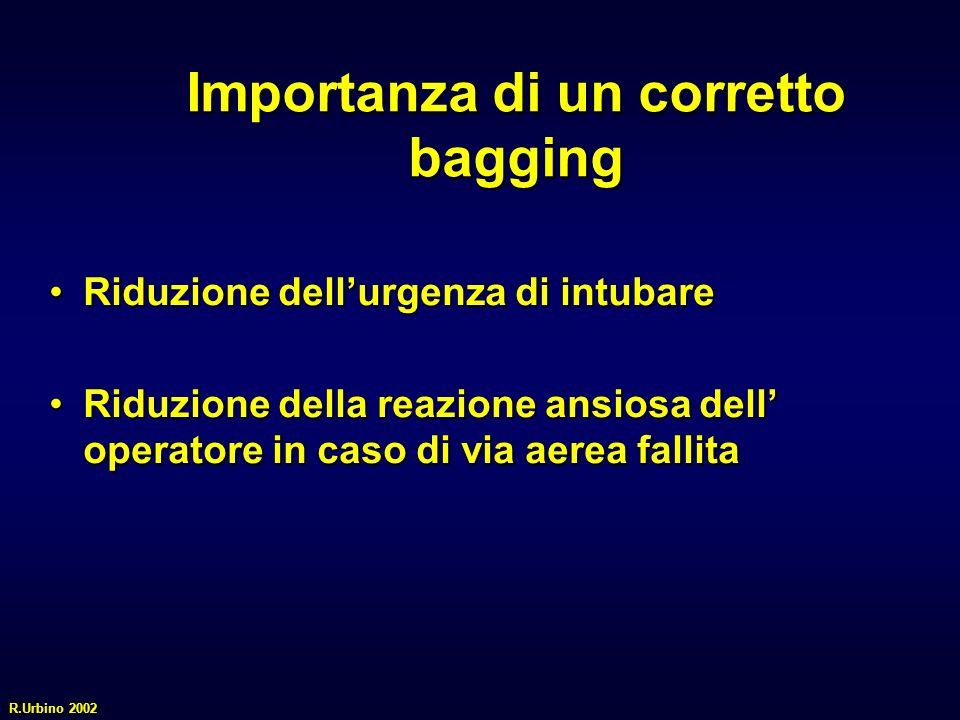 Importanza di un corretto bagging