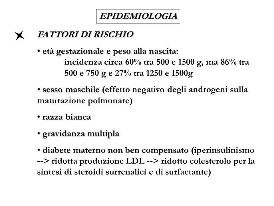 EPIDEMIOLOGIA FATTORI DI RISCHIO.