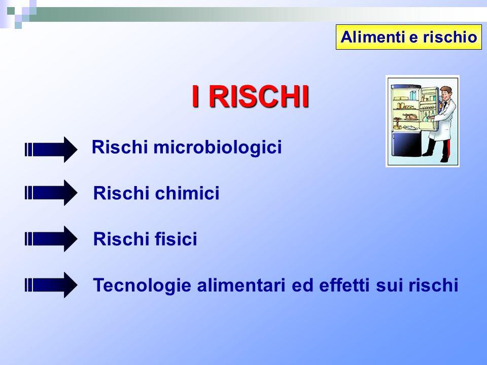 I RISCHI Rischi microbiologici Rischi chimici Rischi fisici