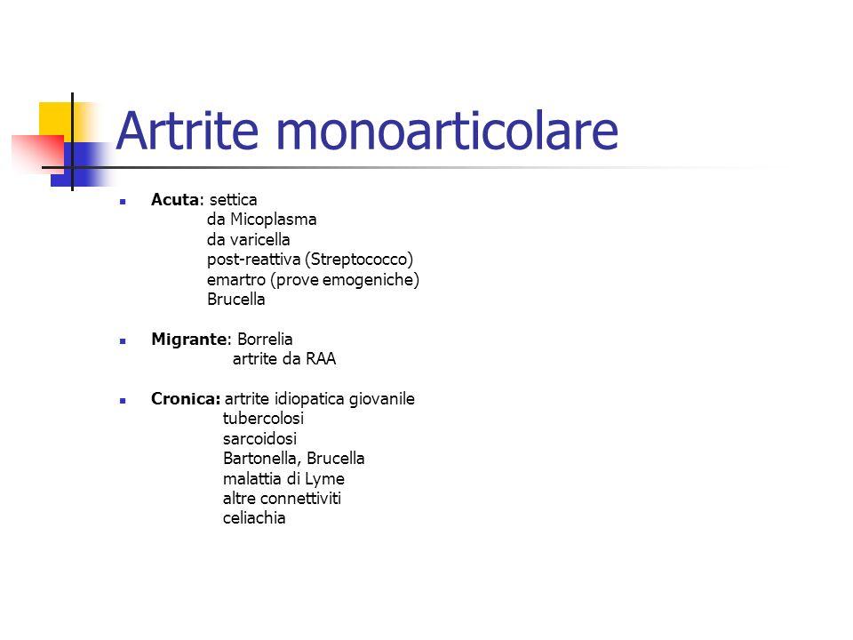 Artrite monoarticolare