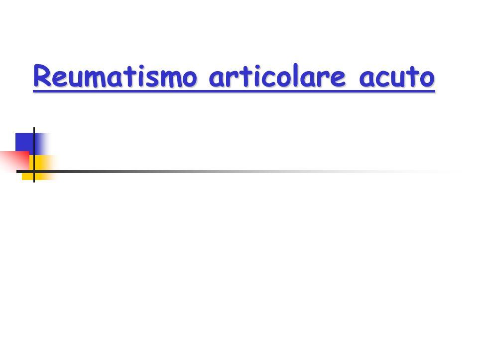 Reumatismo articolare acuto
