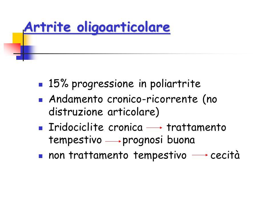 Artrite oligoarticolare