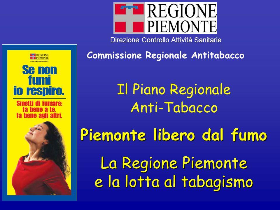 Commissione Regionale Antitabacco Piemonte libero dal fumo