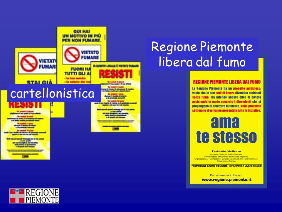 Regione Piemonte libera dal fumo