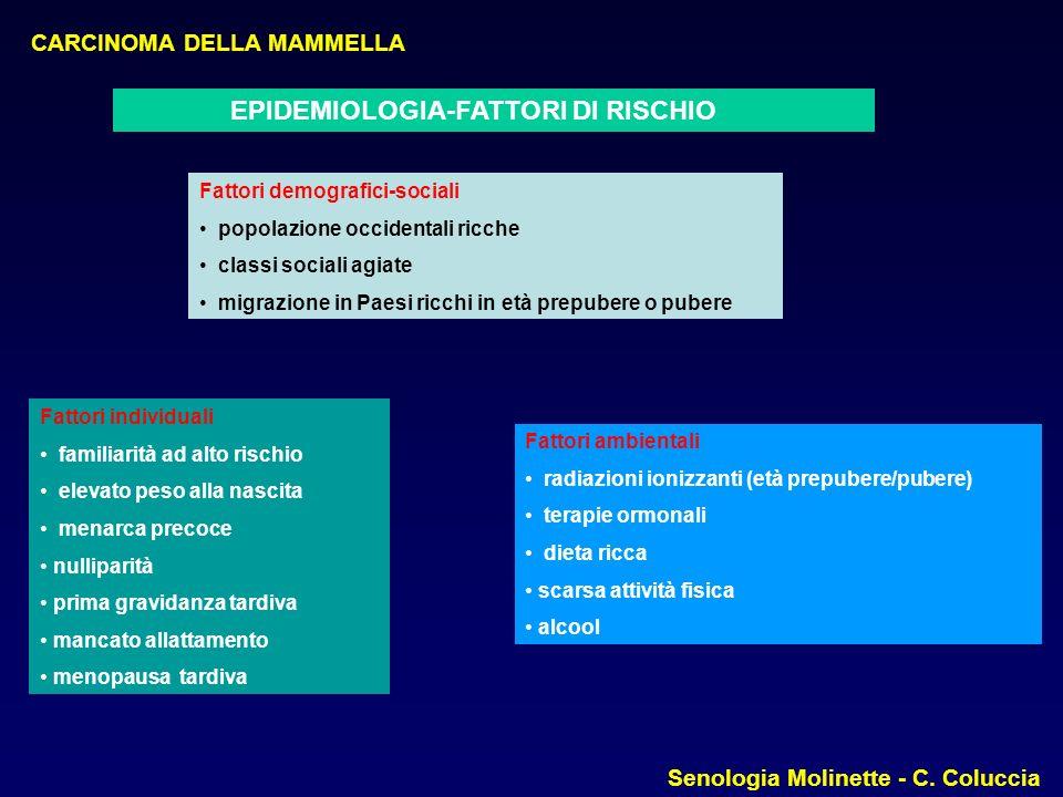 EPIDEMIOLOGIA-FATTORI DI RISCHIO