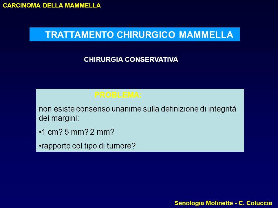 TRATTAMENTO CHIRURGICO MAMMELLA
