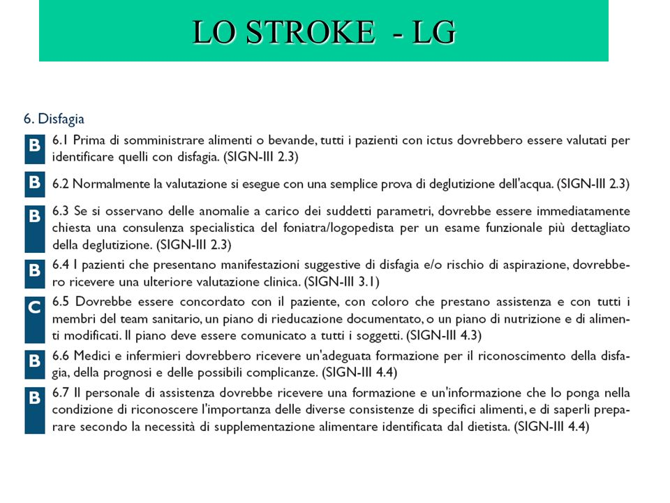 LO STROKE - LG
