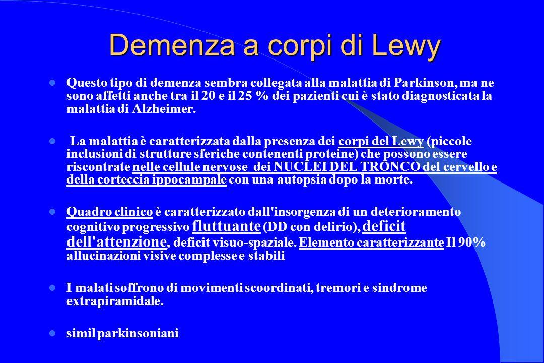 Demenza a corpi di Lewy