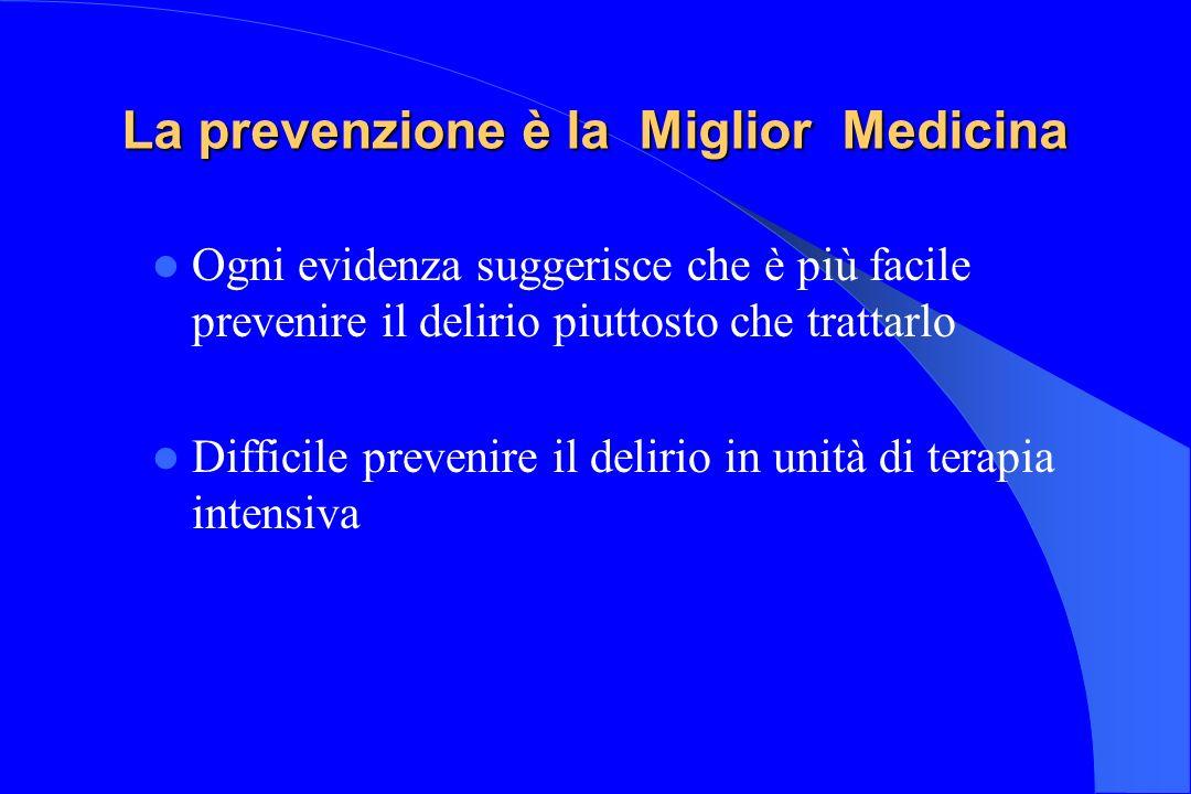 La prevenzione è la Miglior Medicina