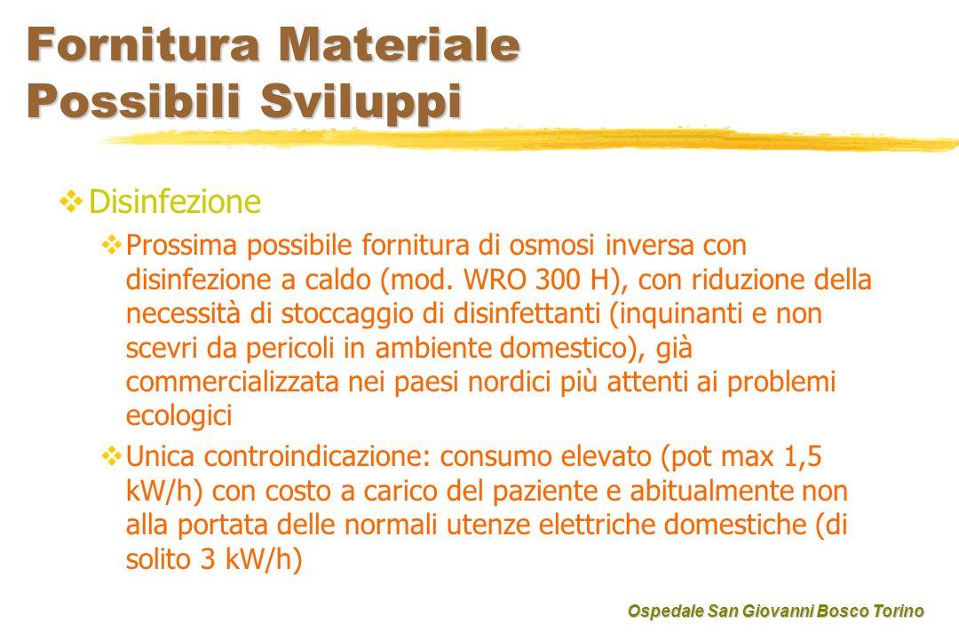 Fornitura Materiale Possibili Sviluppi