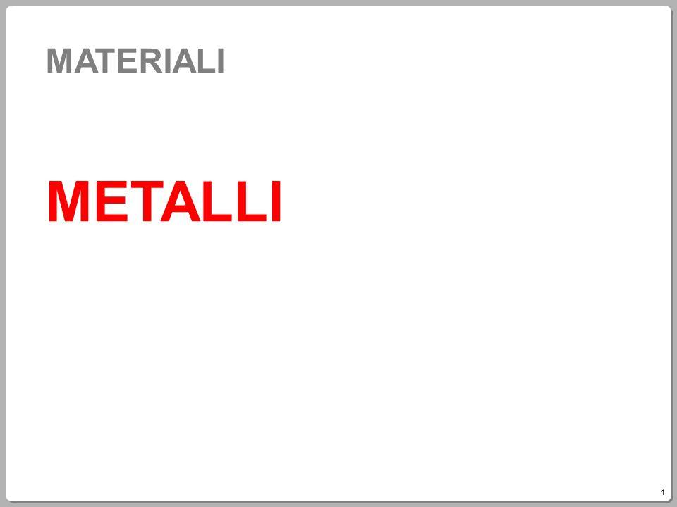 MATERIALI METALLI