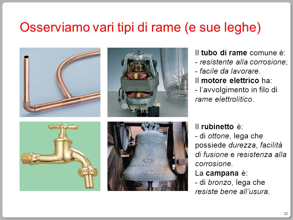 materiali metalli ppt scaricare