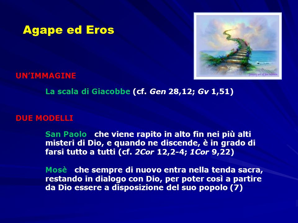 Agape ed Eros UN'IMMAGINE