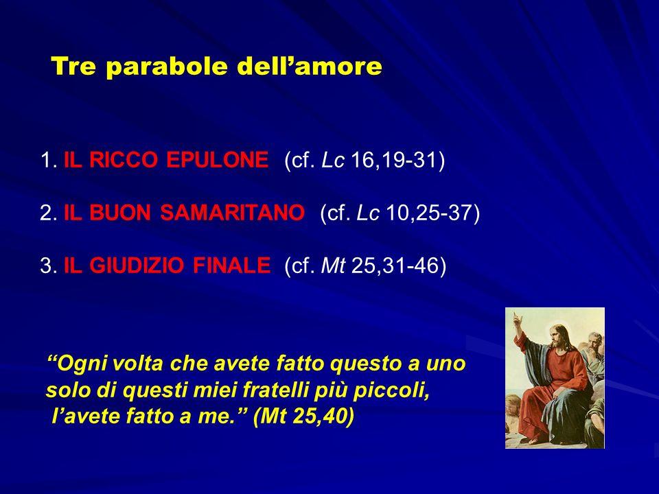 Tre parabole dell'amore