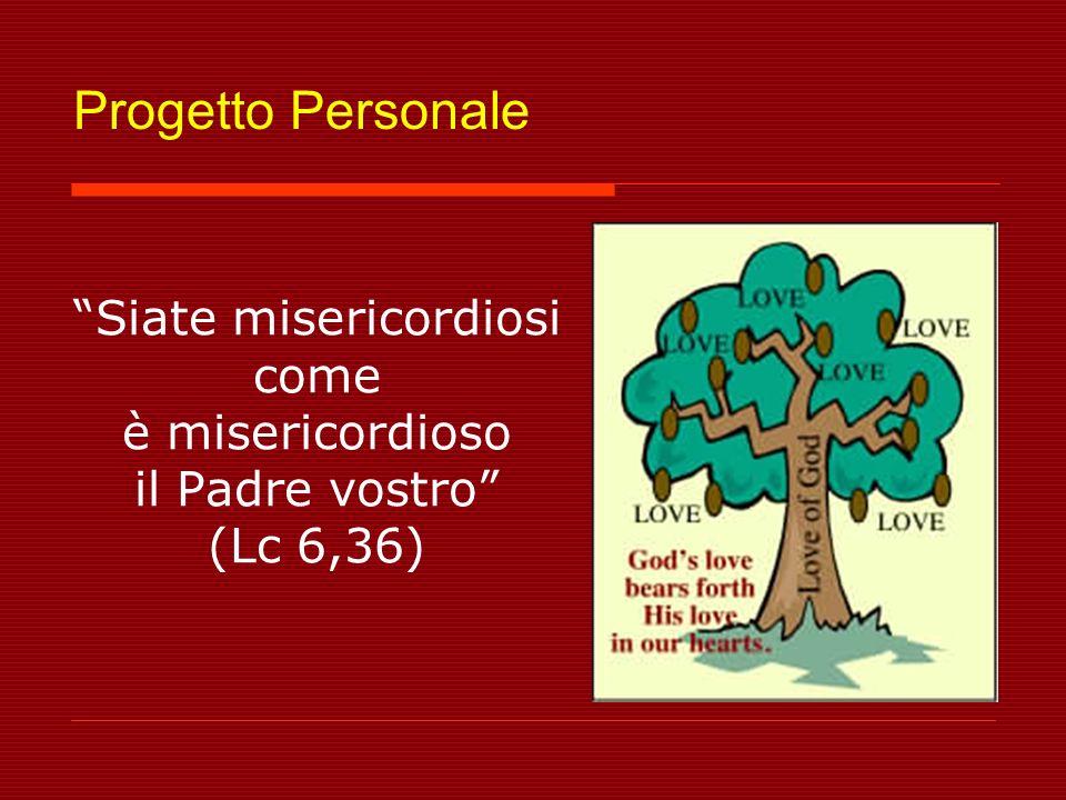 Siate misericordiosi come è misericordioso il Padre vostro (Lc 6,36)