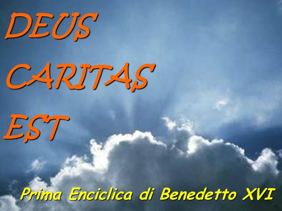 Prima Enciclica di Benedetto XVI