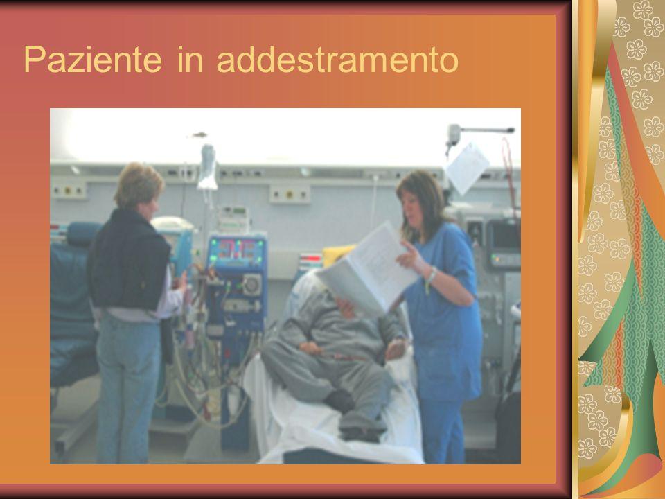 Paziente in addestramento
