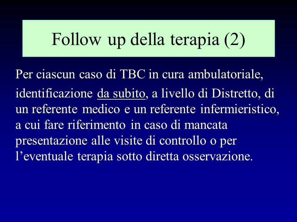 Follow up della terapia (2)