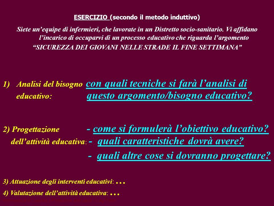 educativo: questo argomento/bisogno educativo