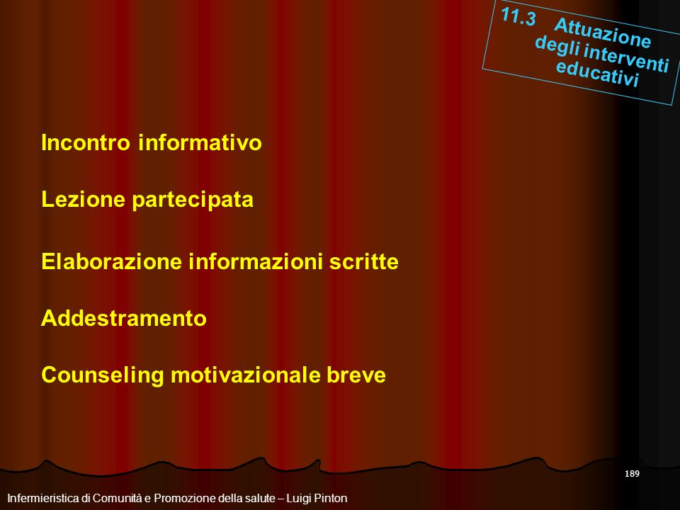Elaborazione informazioni scritte