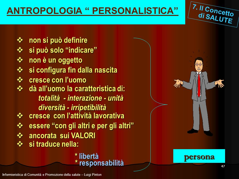 ANTROPOLOGIA PERSONALISTICA