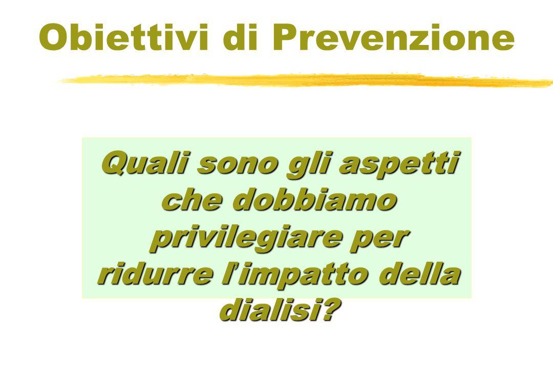 Obiettivi di Prevenzione