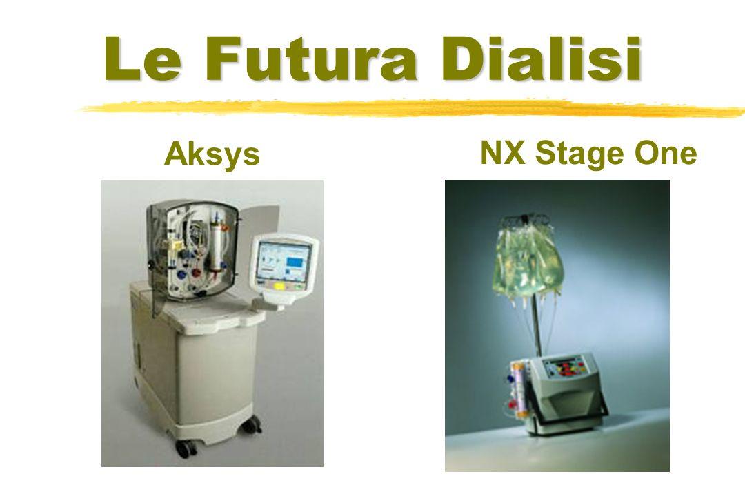 Le Futura Dialisi Aksys NX Stage One