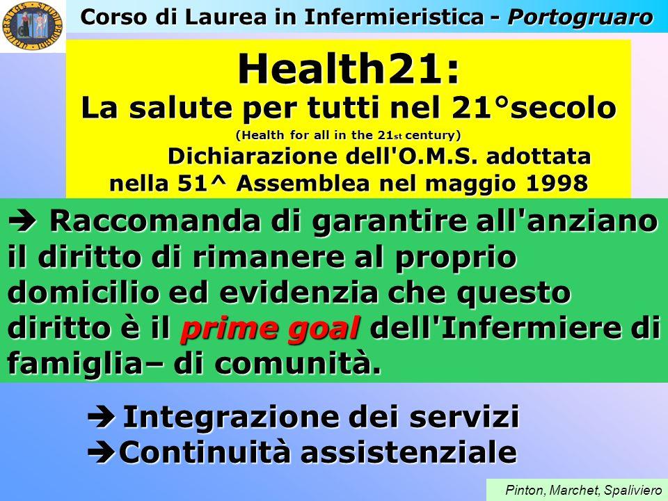 Health21: La salute per tutti nel 21°secolo