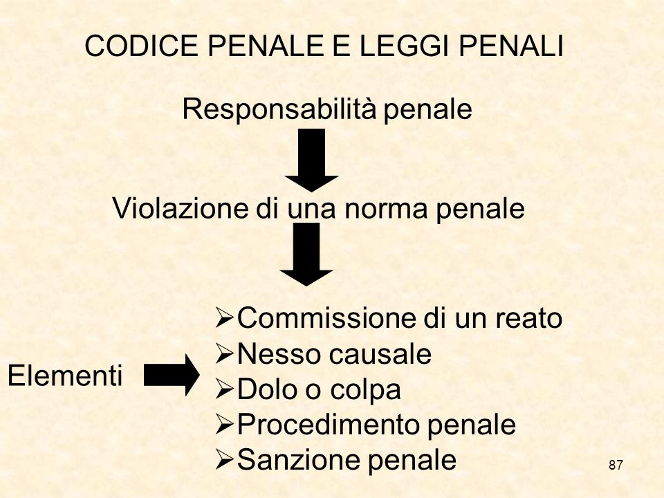 CODICE PENALE E LEGGI PENALI