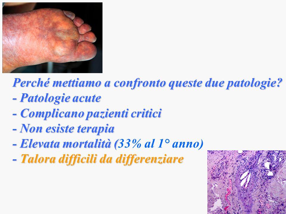Perché mettiamo a confronto queste due patologie
