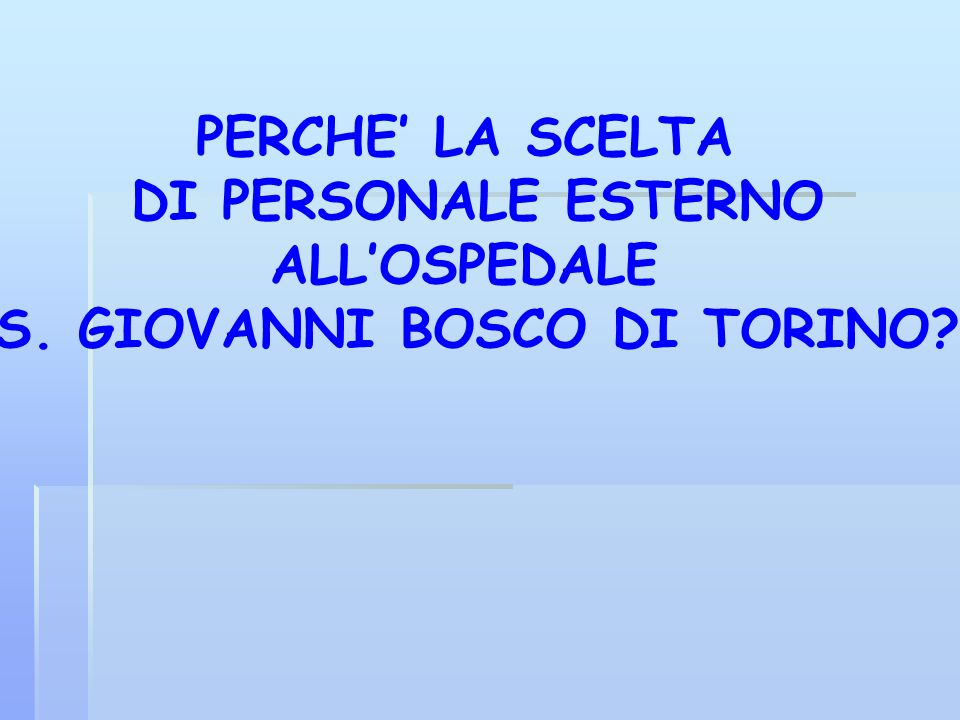 S. GIOVANNI BOSCO DI TORINO