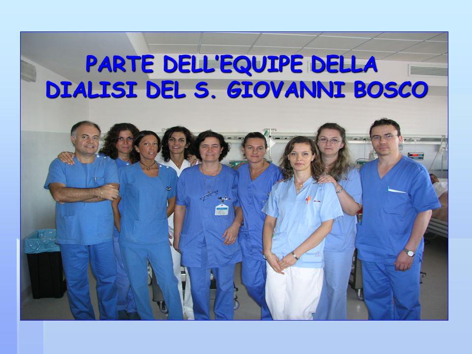 PARTE DELL'EQUIPE DELLA DIALISI DEL S. GIOVANNI BOSCO