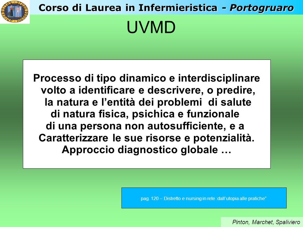 UVMD Processo di tipo dinamico e interdisciplinare