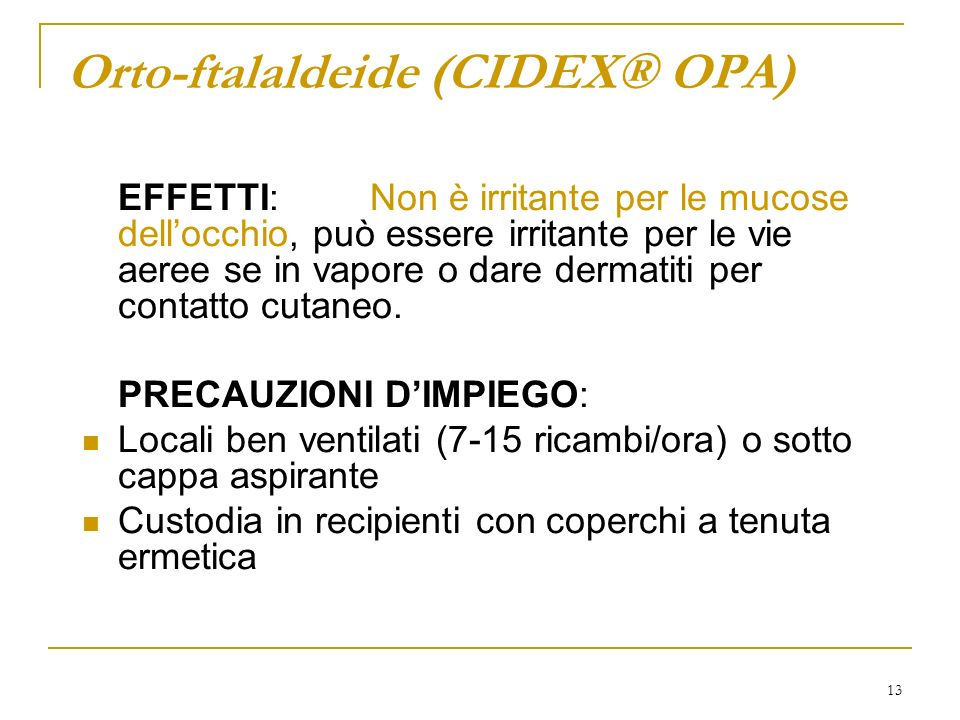 Orto-ftalaldeide (CIDEX® OPA)
