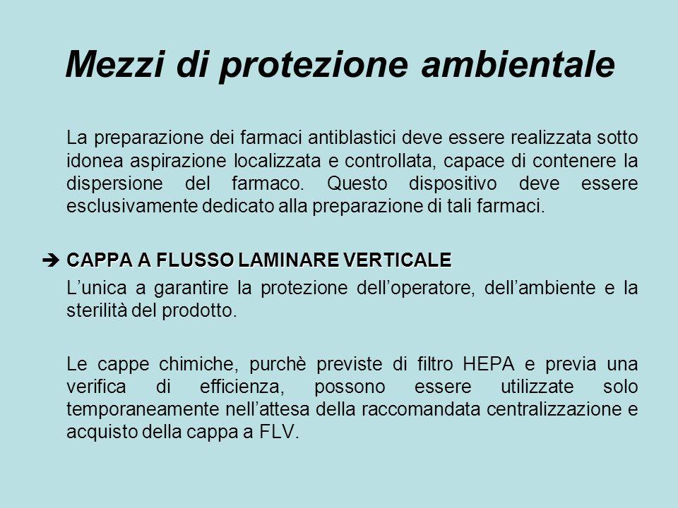 Mezzi di protezione ambientale