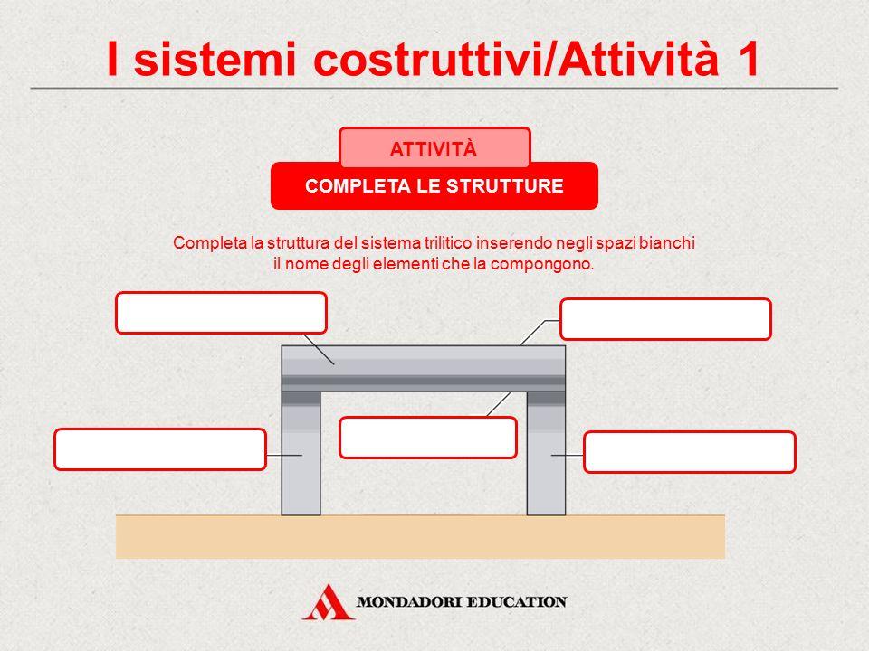 I sistemi costruttivi/Attività 1