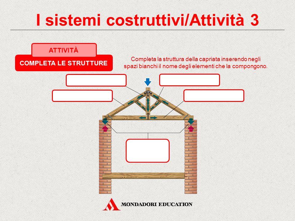 I sistemi costruttivi/Attività 3