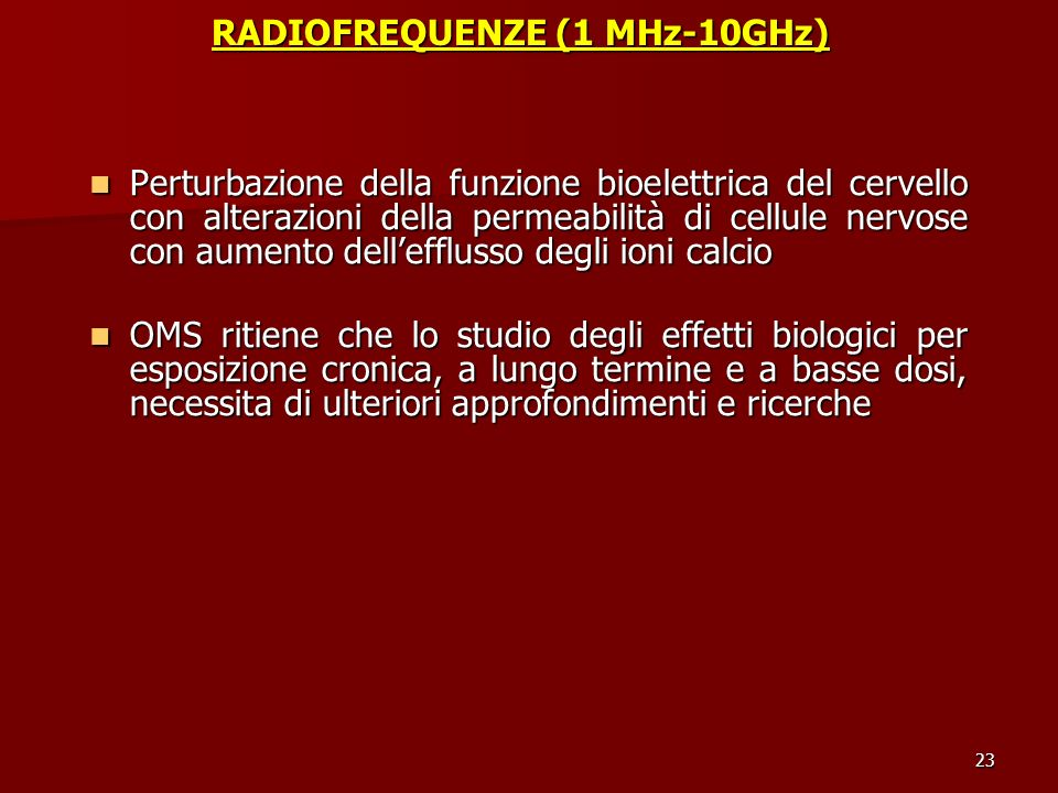 RADIOFREQUENZE (1 MHz-10GHz)