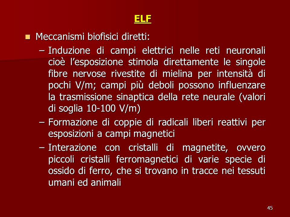 Meccanismi biofisici diretti: