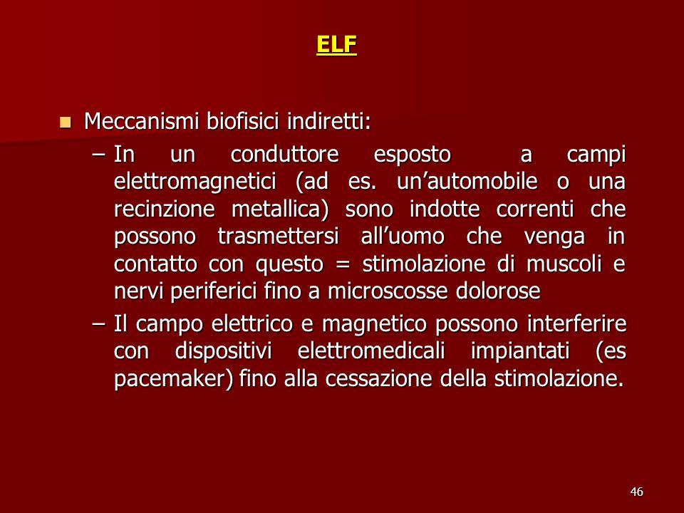 Meccanismi biofisici indiretti: