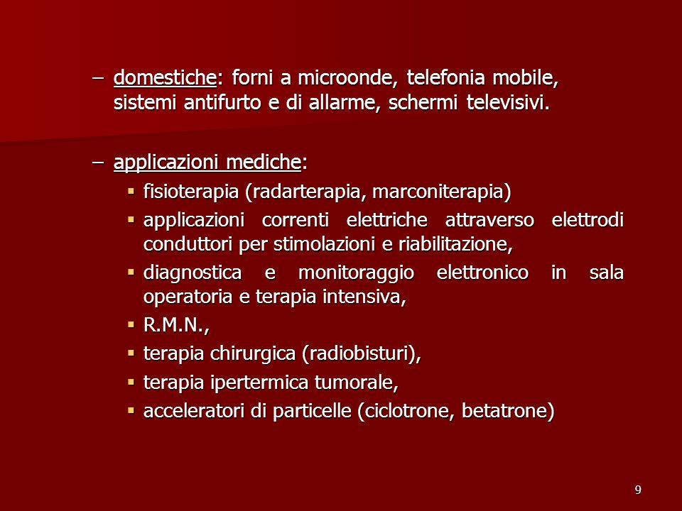applicazioni mediche: