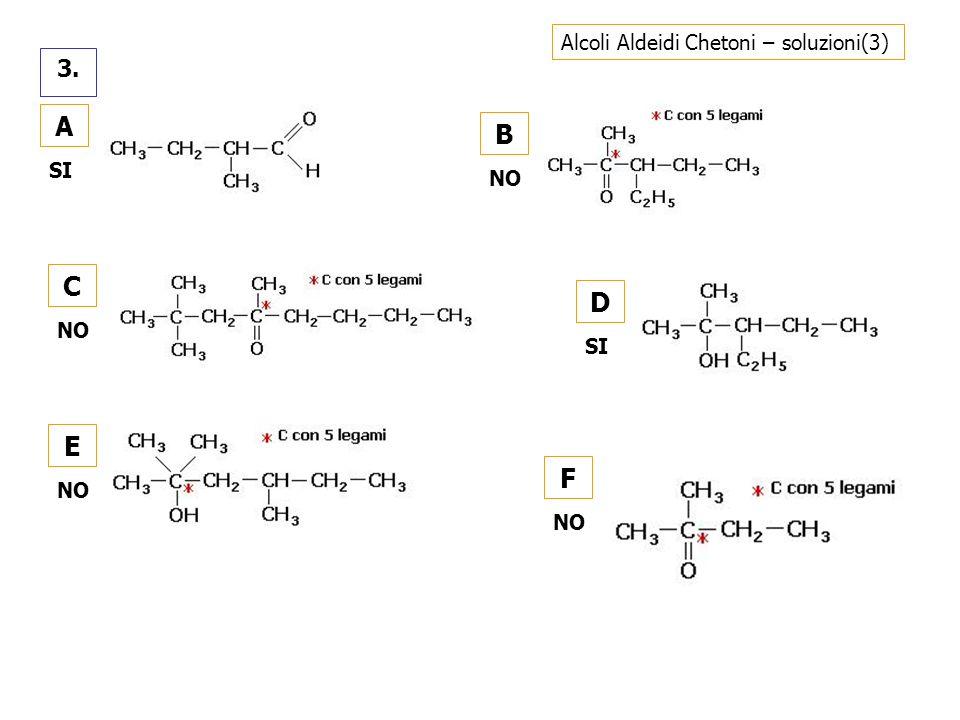 Alcoli Aldeidi Chetoni – soluzioni(3)