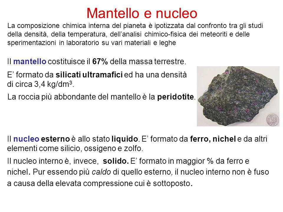 Mantello e nucleo