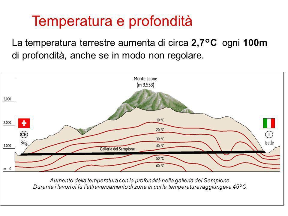 Temperatura e profondità