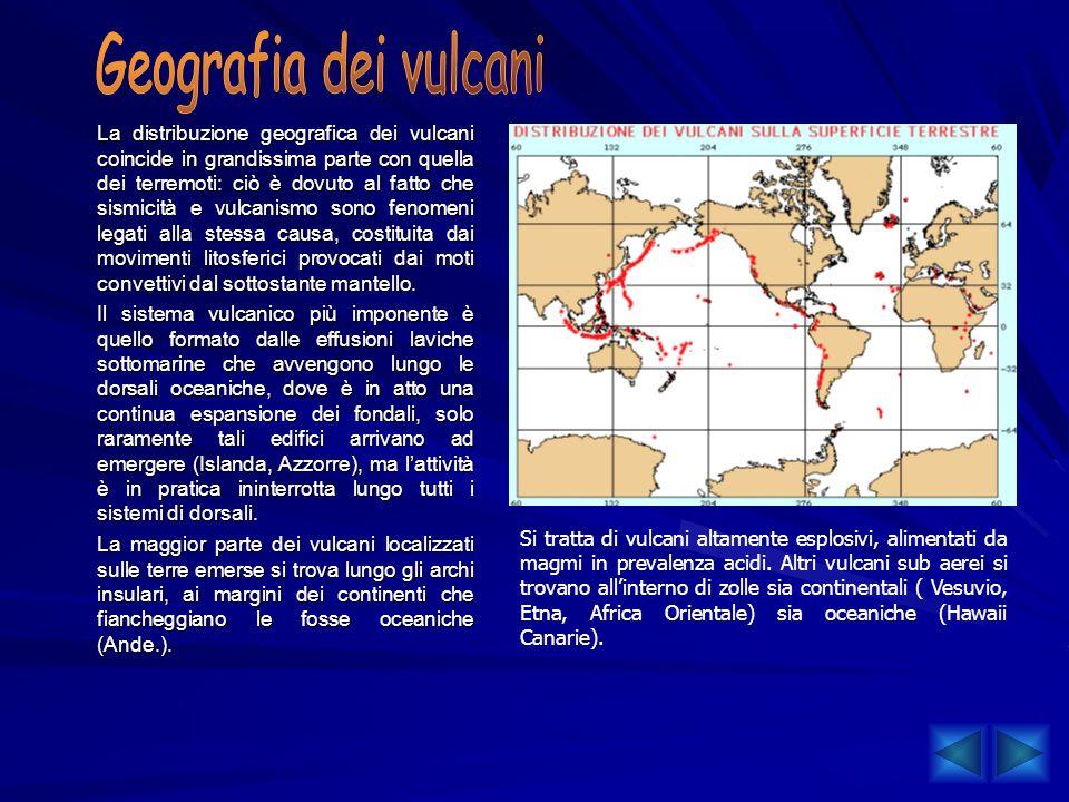 Geografia dei vulcani