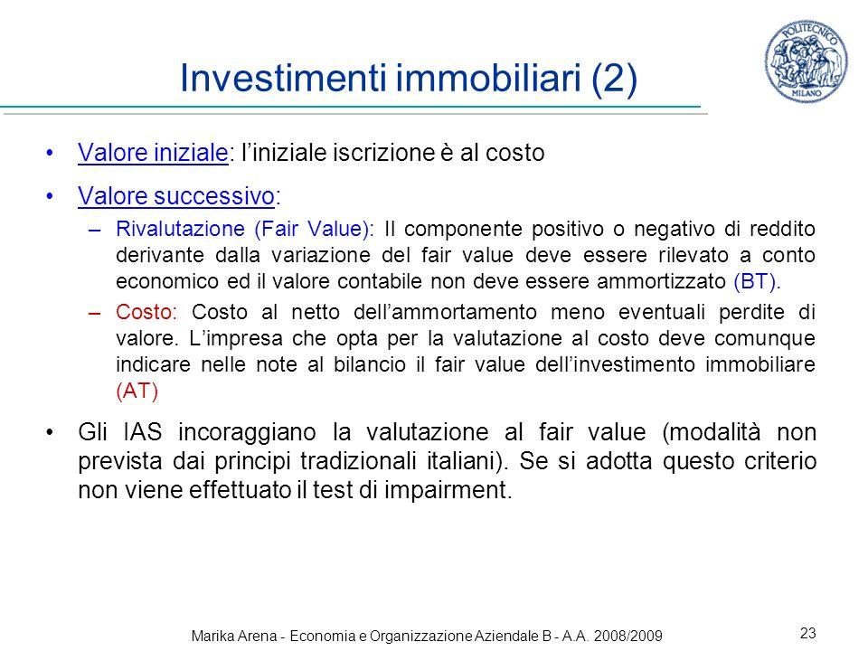 Investimenti immobiliari (2)